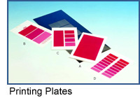 K Printing Proofer Printing Plates photo.